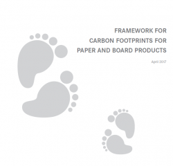 Framework for Carbon Footprints for Paper & Board Products