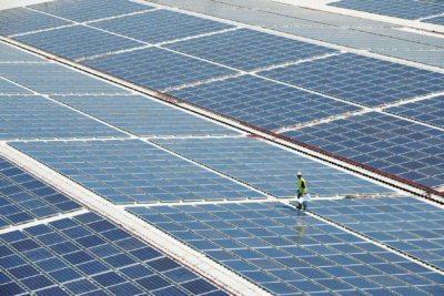 Reaping the benefits of solar: photovoltaic power plant